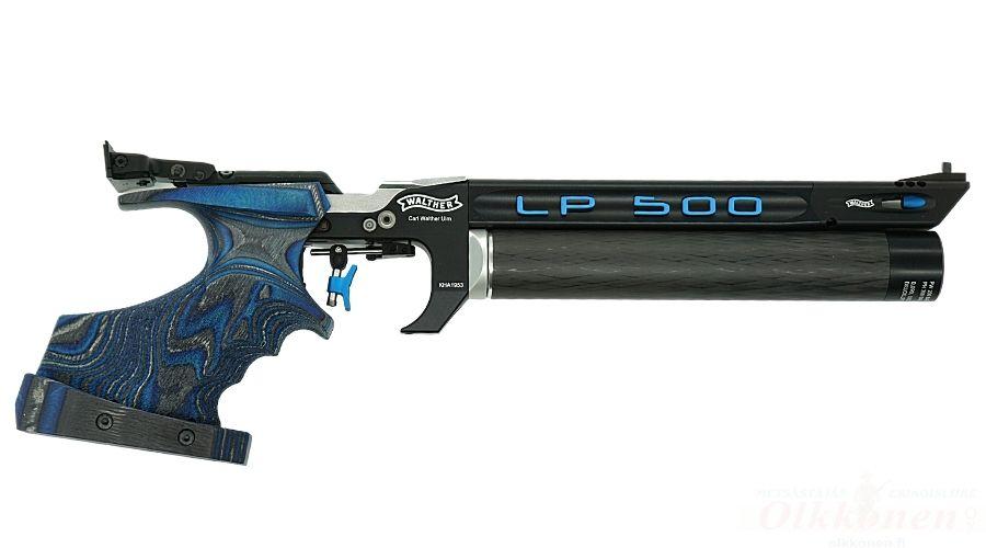 Walther LP 500 Expert, Blue, ilmapistooli 4,5mm