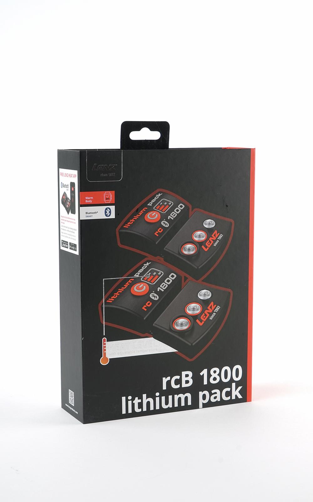 Lenz Lithium pack rcB 1800 akkupari + laturi