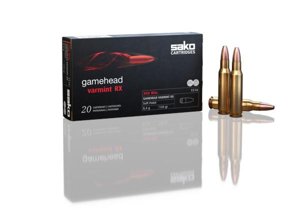 Sako .308 Win Gamehead Varmint RX 8,4g HPBT 151A
