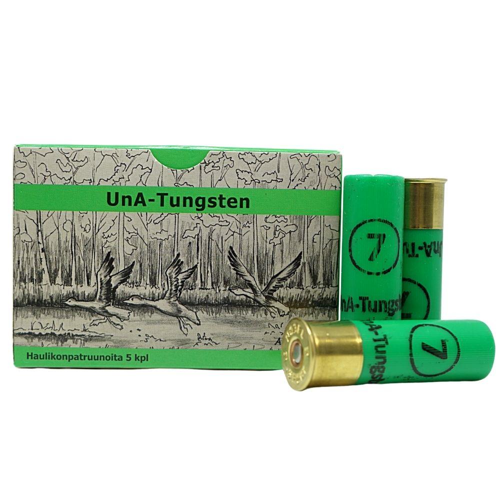 UnA-Tungsten patruuna 16/70 26g haulikoko 2,50mm 5kpl/rs