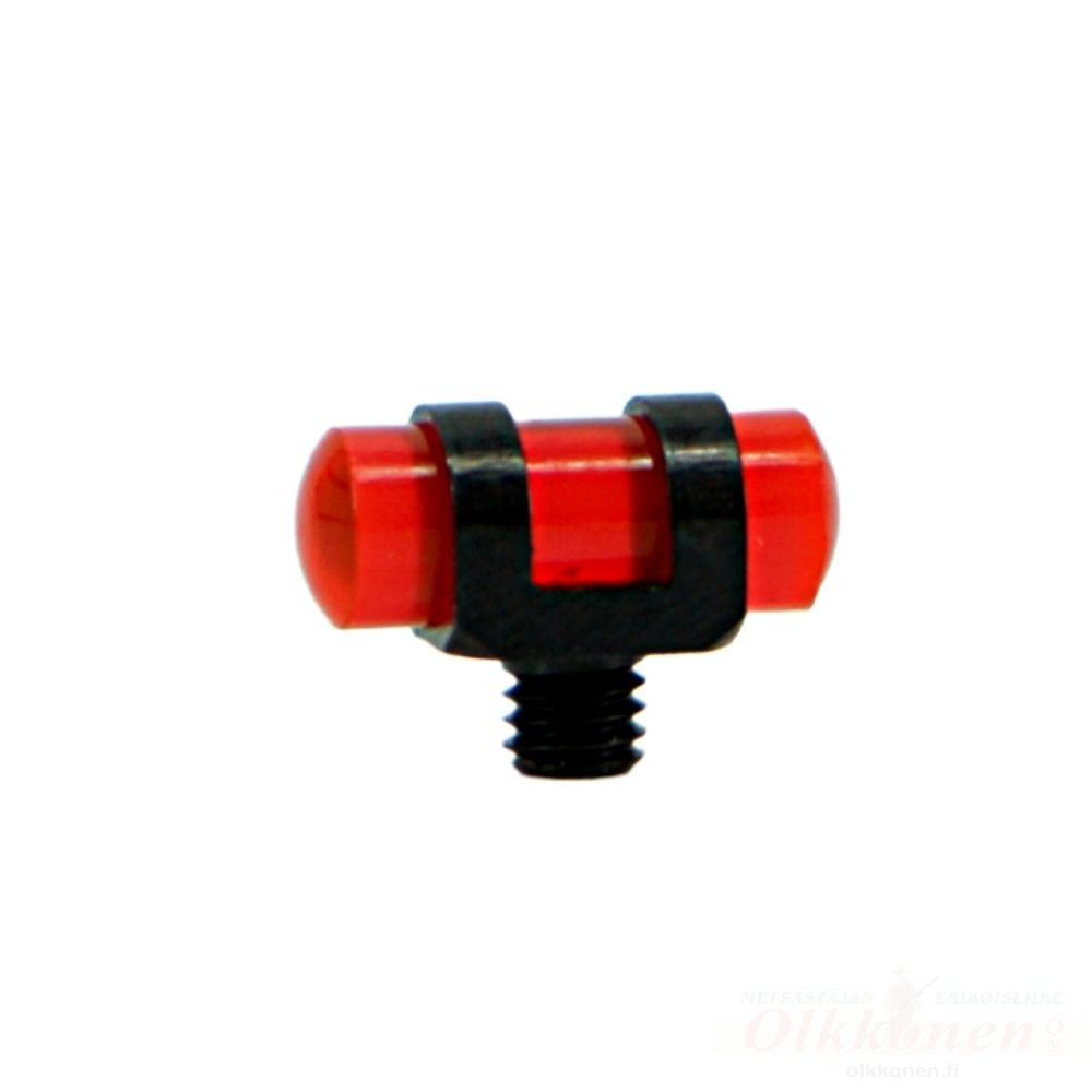 Loistejyvä 4mm kierteen halkaisija 3,5mm punainen