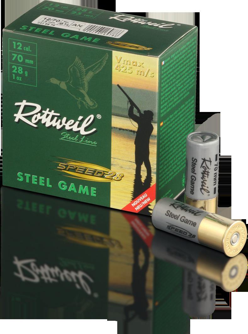 Rottweil 12/70 Steel Game Speed 28 g 3,0 mm 25 kpl/rs