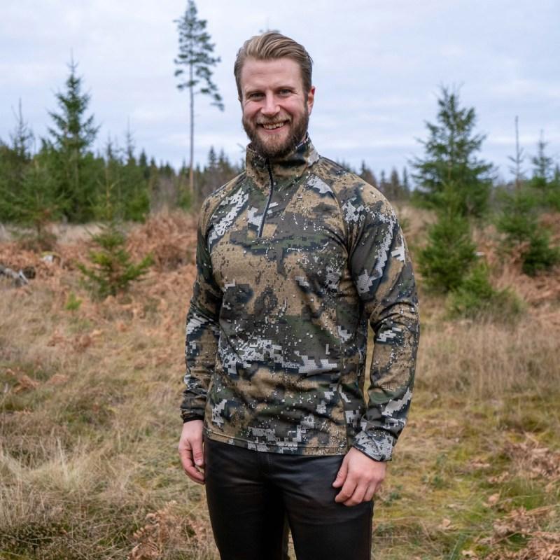 Swedteam Ridge Antibite Sweater vetoketjulla
