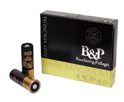 B&P Baby Magnum 12/70 42g nro 3 3,3mm
