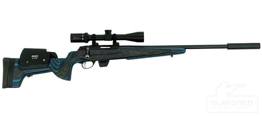 Tikka T1X .22LR KKC Short pienoiskivääri paketti