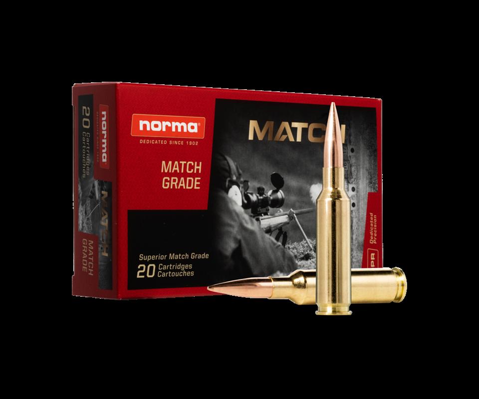 Norma 6,5 Creedmoor 8,4g/130gr Golden Target HPBT 20 kpl/rs