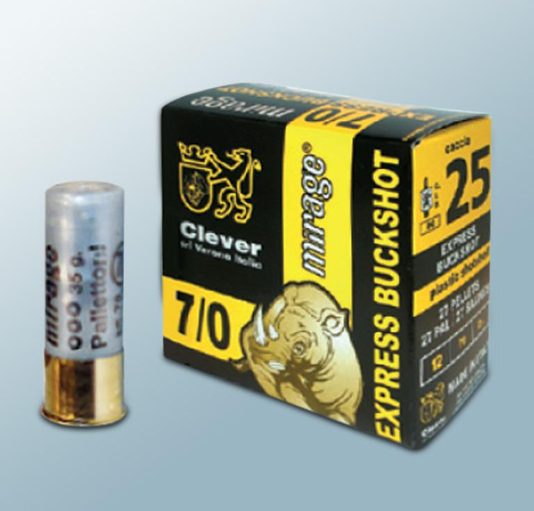 Mirage 12/70  Express Buckshot 7/0 6,2mm  35 g