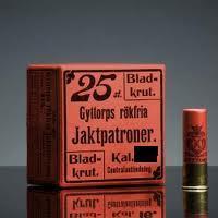 Gyttorp juhlapatruuna 12/65  3,0mm / 33g 25kpl/rs