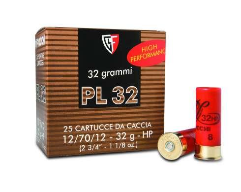 Fiocchi PL32 12/67 32g haulikoko 6 2,7mm