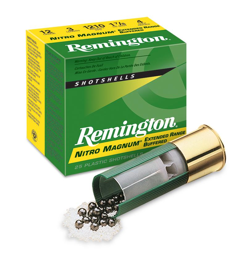 Remington Nitro Magnum 12/76 52g nro 2      3,8mm