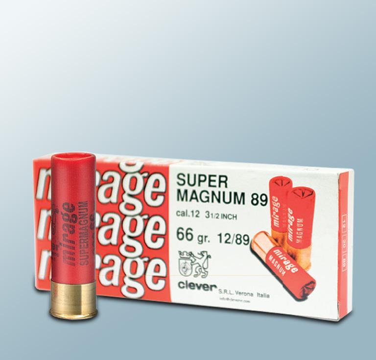 Mirage Super Magnum T3 66g 12/89 nro 3