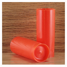 12kal.TUPRW123 12/76 oranssi teräsvälitulppa 100 kpl/pss