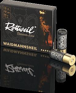 Rottweill Waidm. Pappe 12/70 36 g 3,2mm