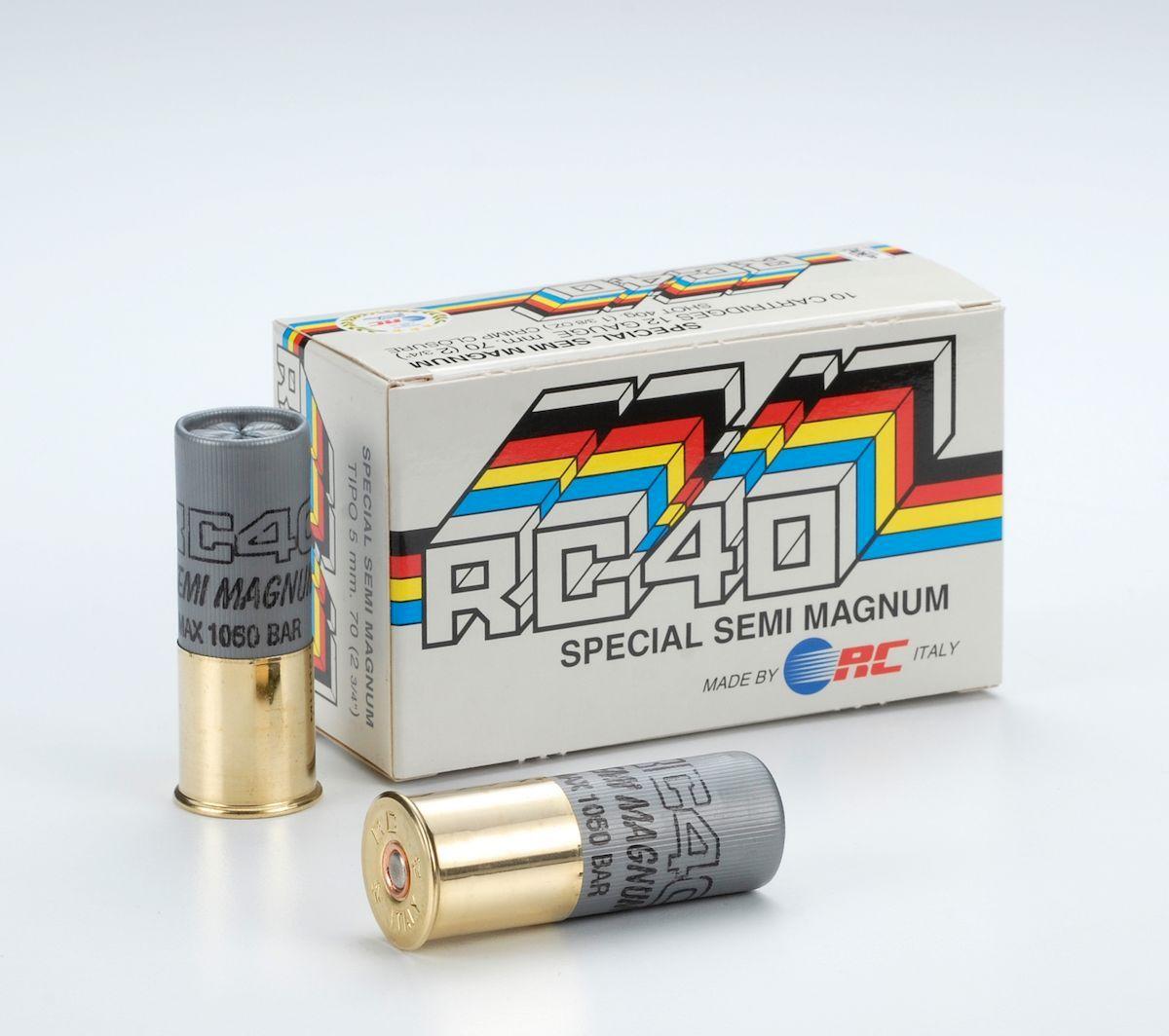RC 40 Semi Magnum 12/70 40g 2,9mm nro:5