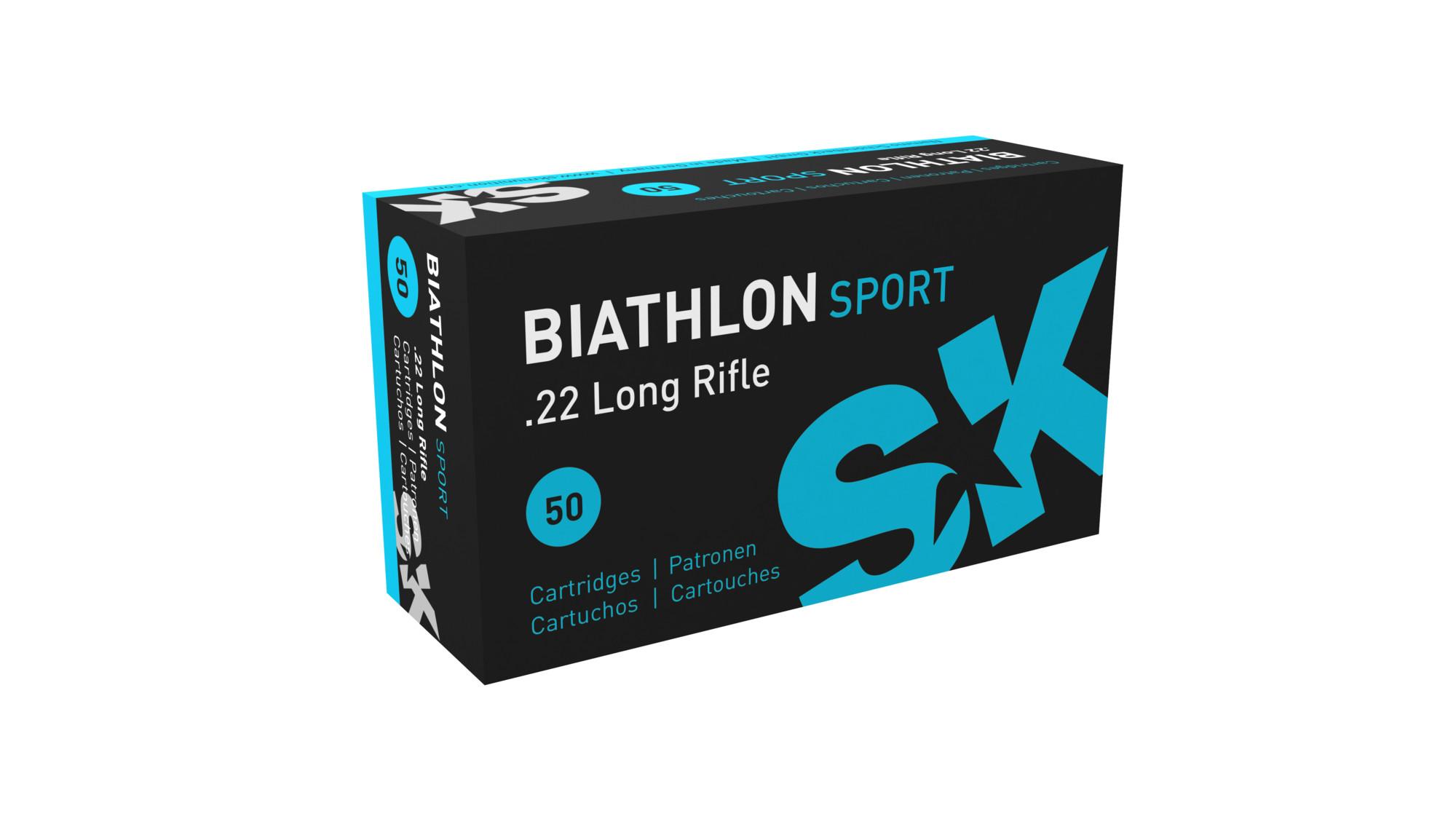 SK Biathlon .22 lr pienoiskiv. patruuna 50kpl/rs