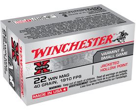 Winchester .22 Wmr 2,6g  582 m/s  JHP