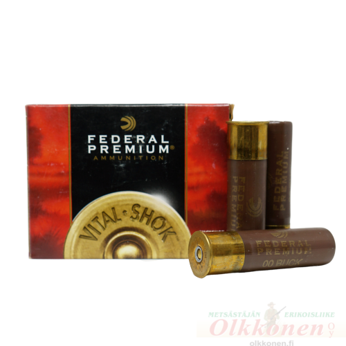 Federal Buck 10/89 8,4mm Premium P10800B 5kpl/rs