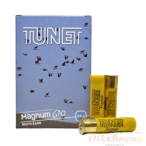 Tunet Magnum 610 20/76 34g haulikoko 4 3,25mm 10 kpl/rs