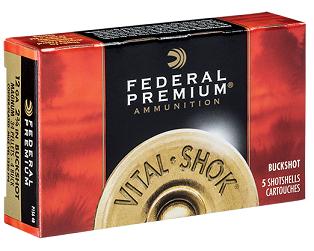 Federal Buck 12/76 8,4mm Premium P15800B