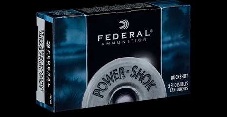 Federal 12/70 Power-Shok 000 Buck 9,14mm 8 haulta 5kpl/rs