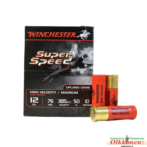 Winchester Super Speed G2 12/76 nro:0  3,9mm 50g