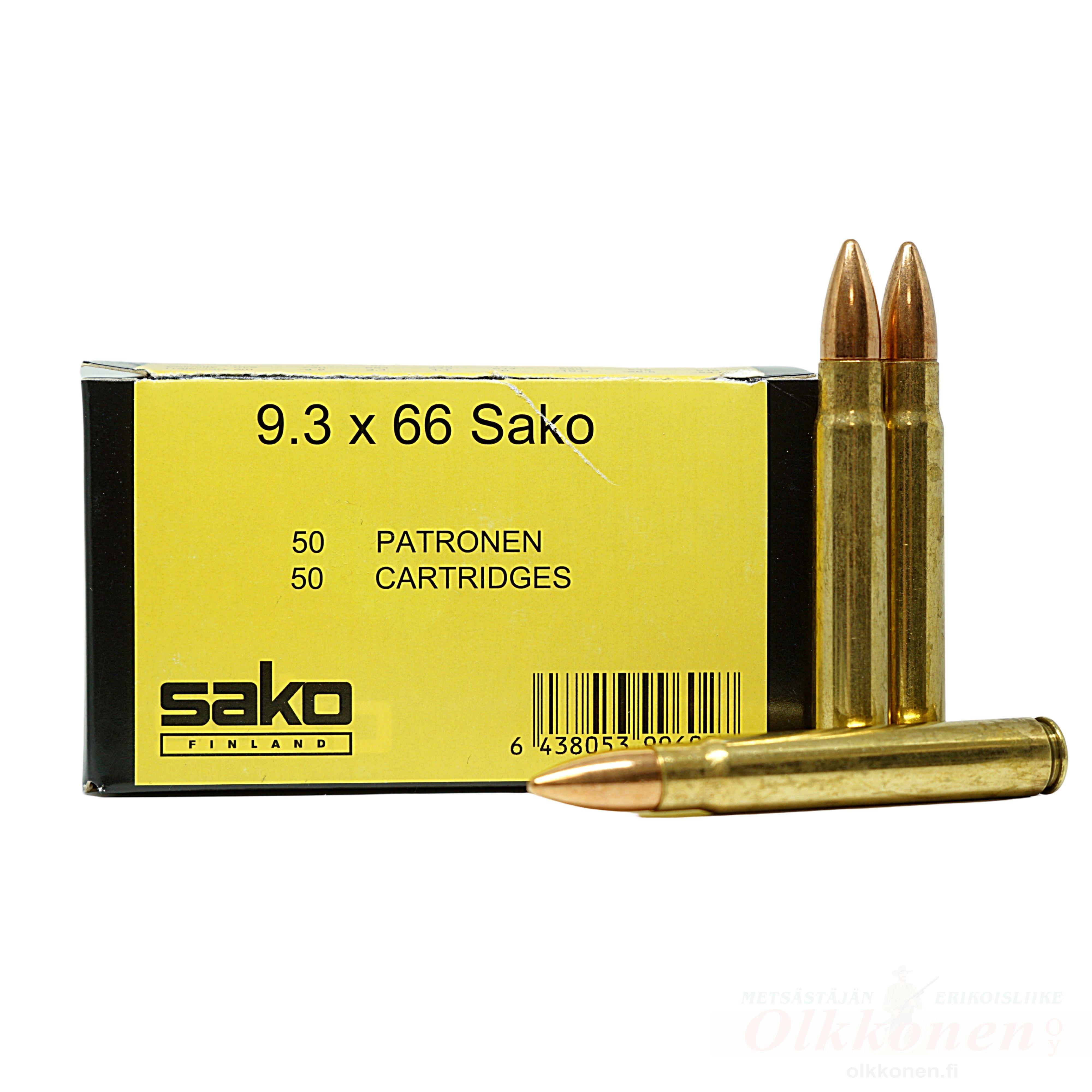 Sako Range 9,3X66 FMJ 15g