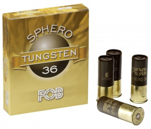 FOB Sphero Tungsten 12/70 36g n:o 4  3,25mm