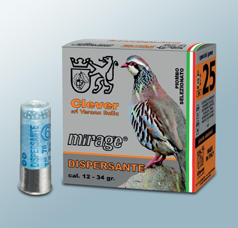 Mirage T3 12/70 Dispersante  34g 2,7mm nro: 6 25kpl/rs