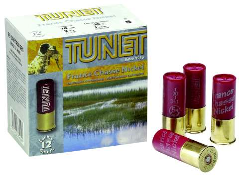 Tunet France Chasse Nickel 12/70 36g nro4 3,25mm