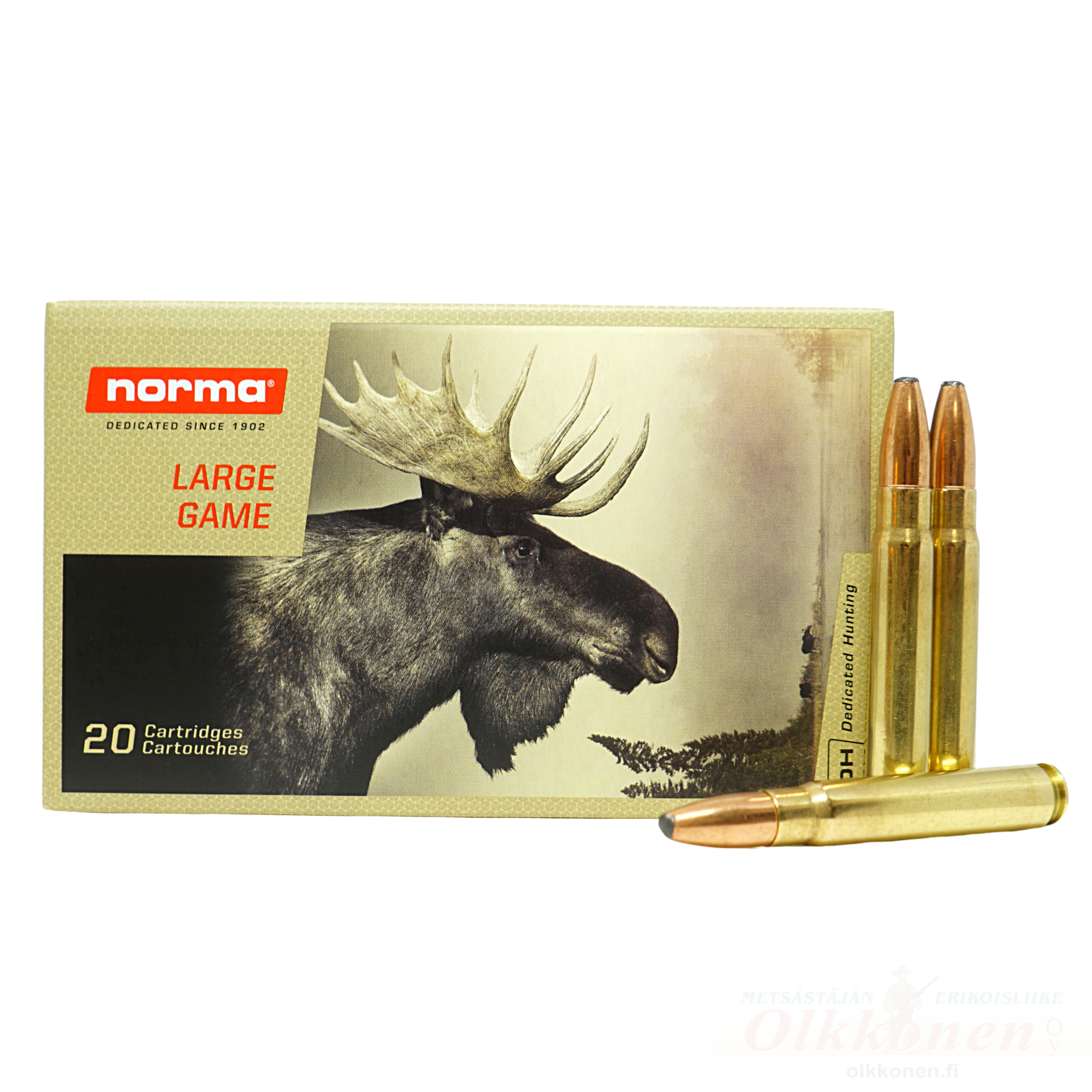 Norma 9,3x62 Oryx 18,5 g SP 20 kpl / rs