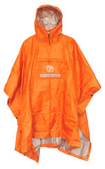 JR Gear light weight poncho, oranssi