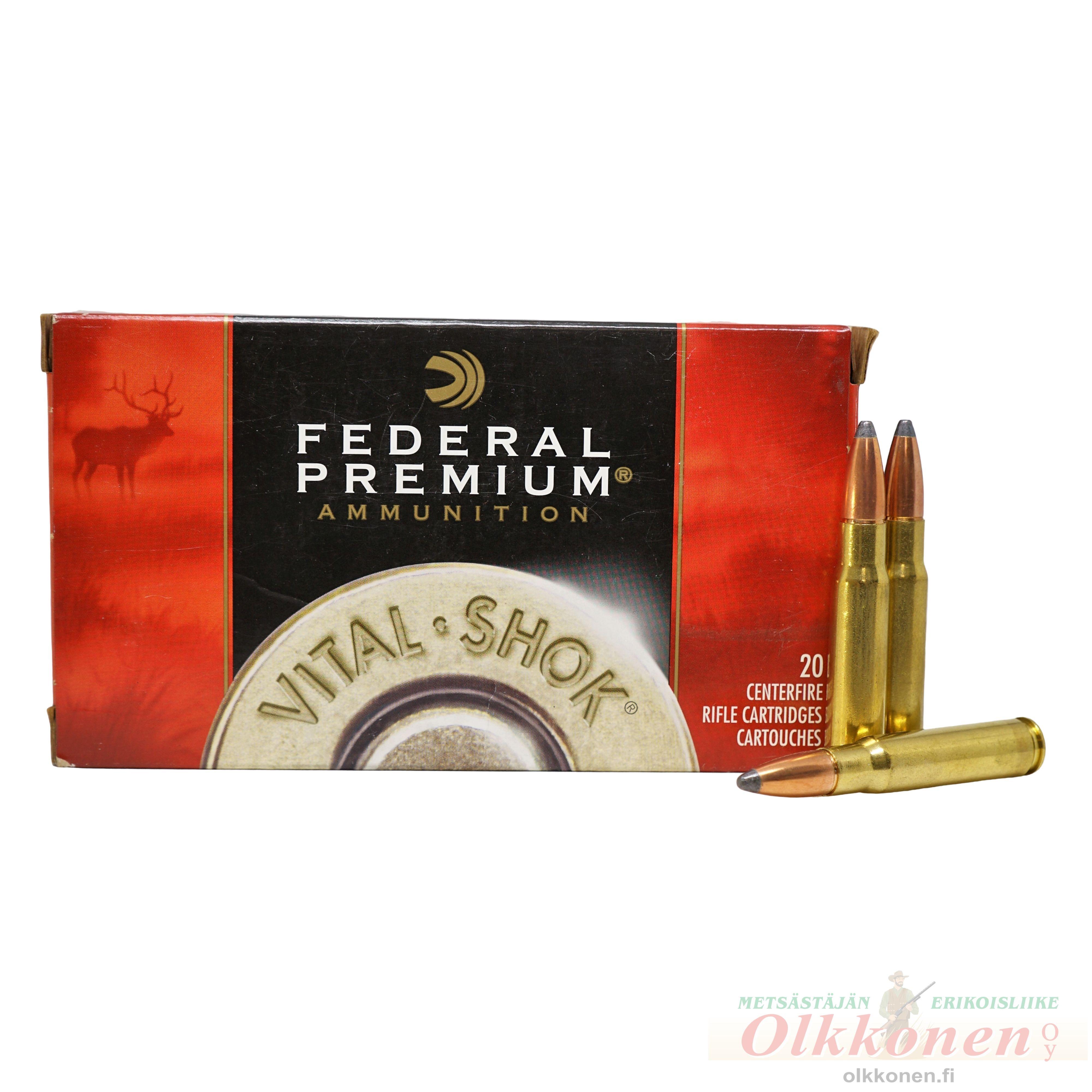 Federal .338 Nosler Partition 13,7g Premium P338FB