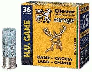 Mirage H.V. Game / High velocity T3 36g 12/70 haulikoko 2 3,5mm