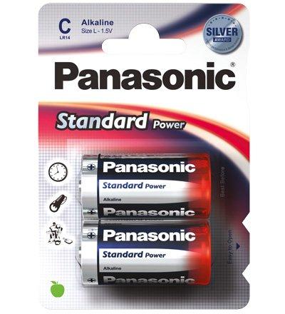 Panasonic Standard Power LR14 alkaliparisto 2 kpl