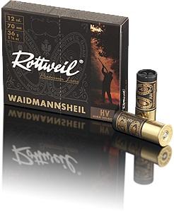 Rottweil Waidmannsheil 12/70 36g nro 0 4,2mm