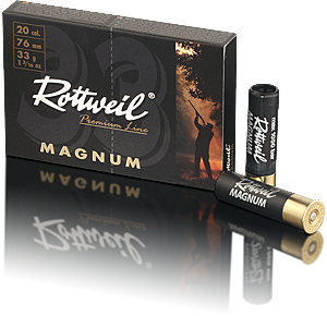 Rottweil Magnum 33g  20/76 4 3,2mm