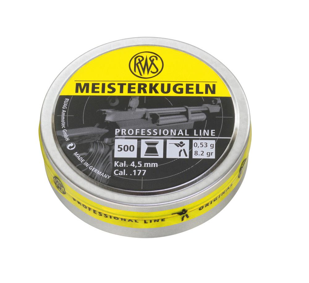 ilmakivääriluoti RWS Meisterkugeln  4,50mm 500kpl/rs