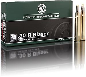 RWS .30R Blaser Evolution 11,9g/ 184gr