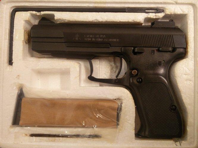 Norinco 77B 9mm para pistooli, uusi