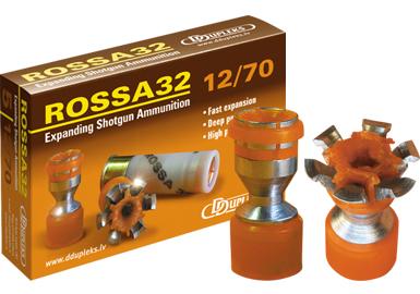Ddupleks Rossa 32g täyteinen 12/70 5kpl/rs