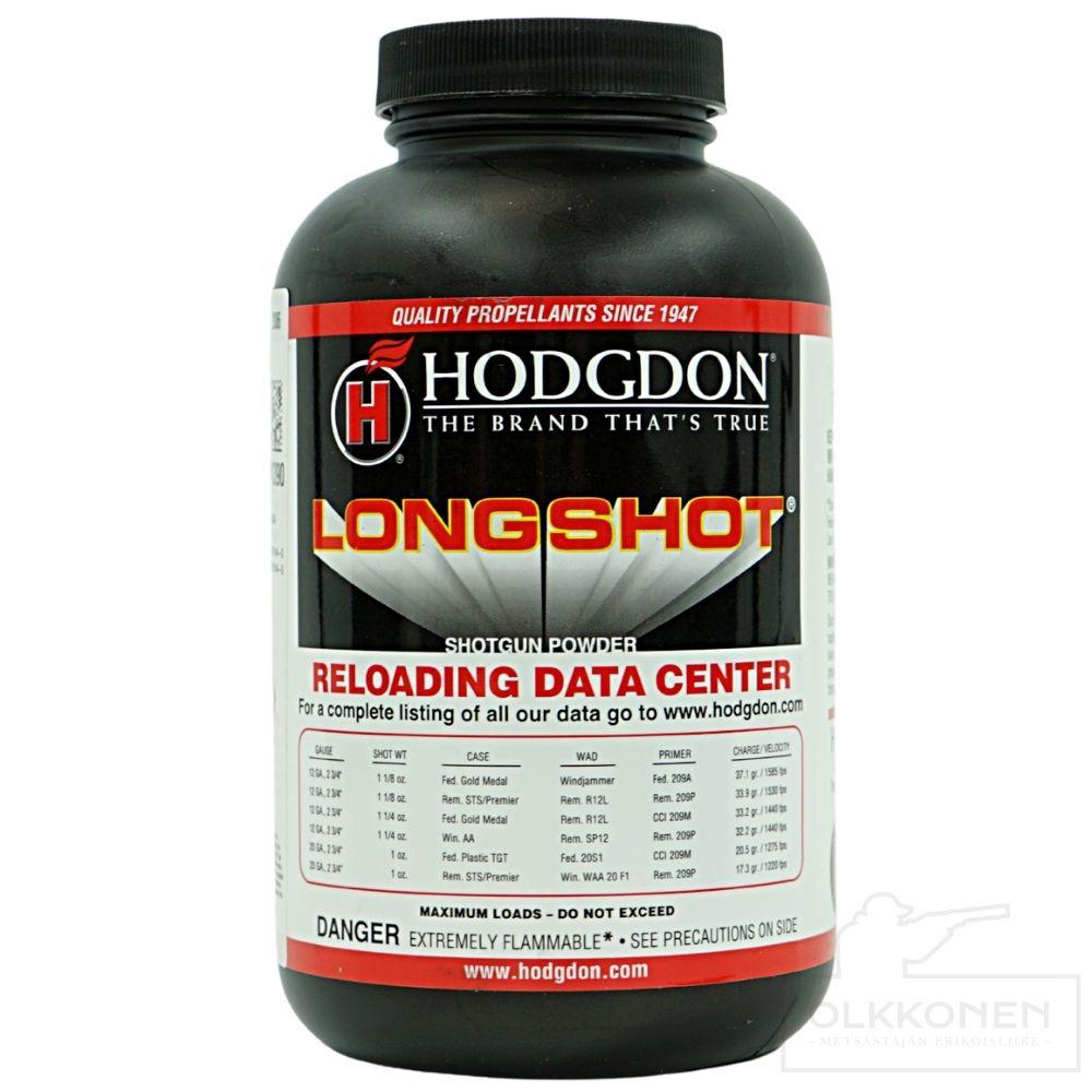 Hodgdon Longshot ruuti 0,454g/prk
