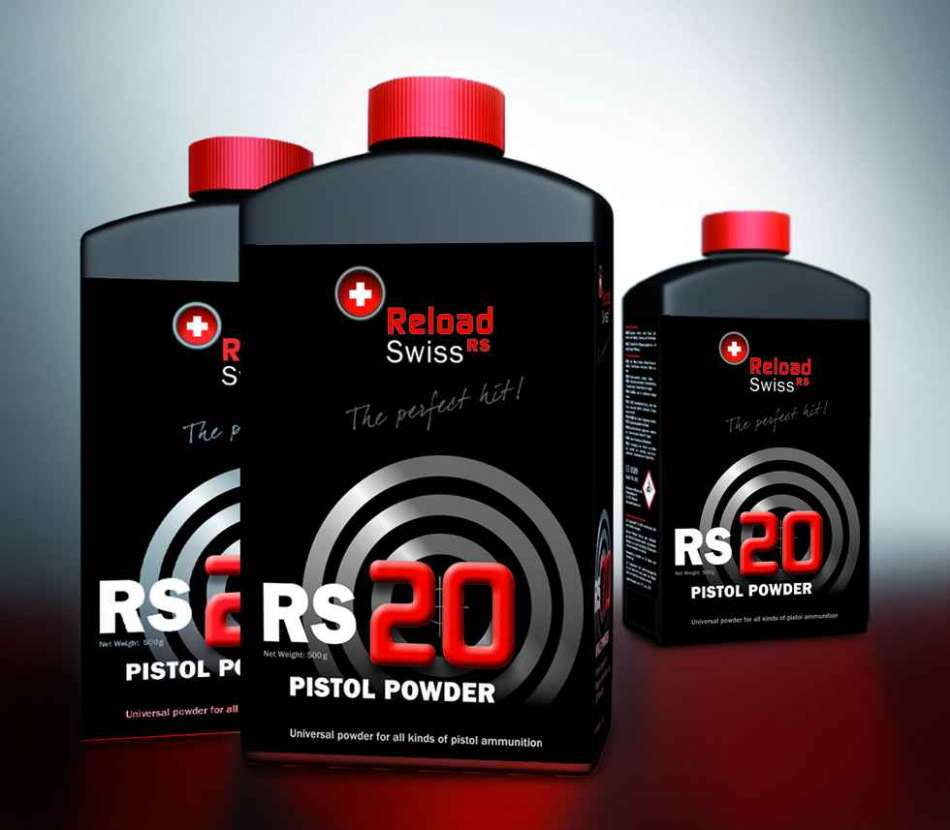 Ruuti Reload Swiss RS20    0,5kg  pistol powder