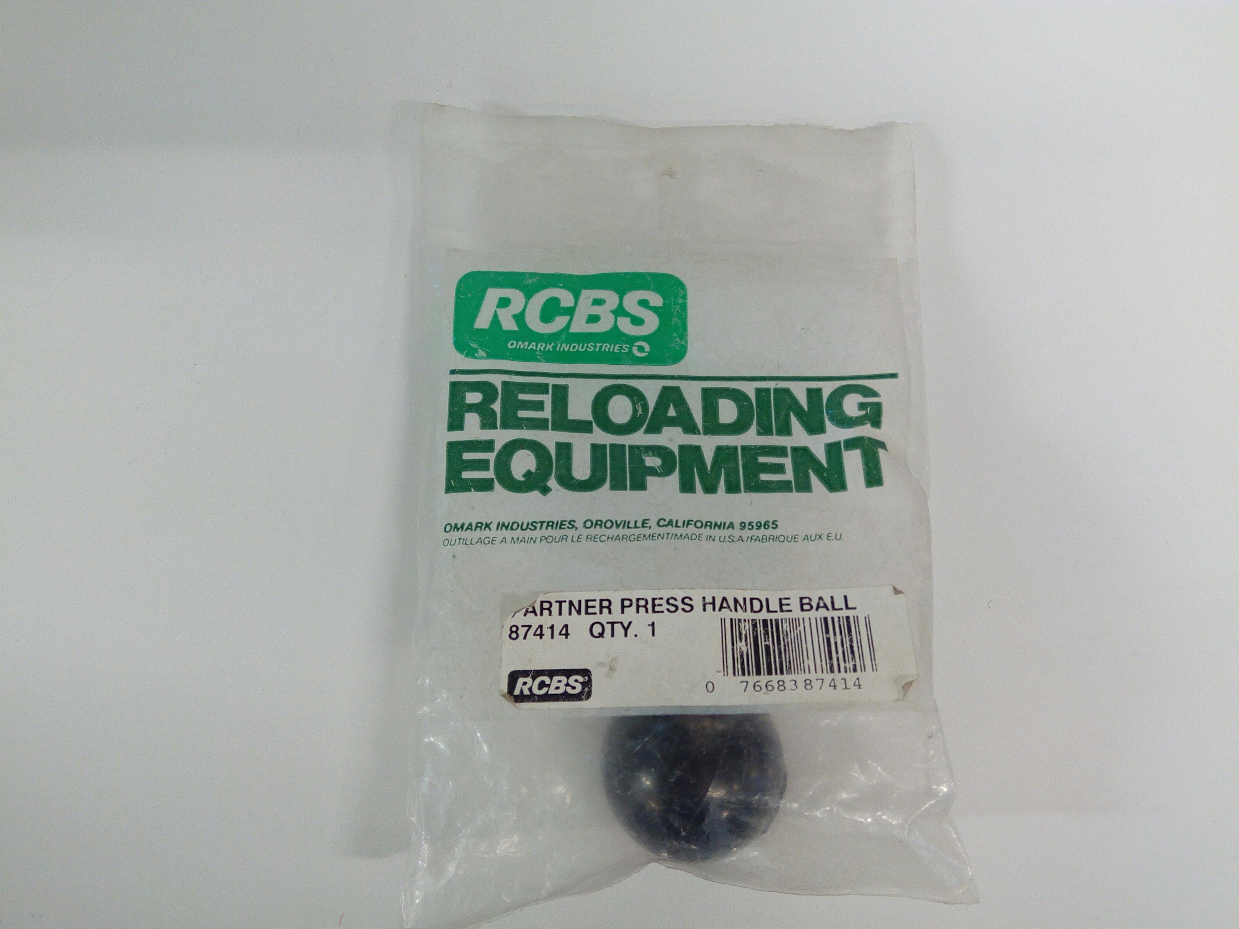 RCBS puristimen kammen nuppi