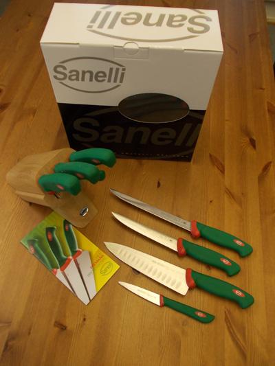 Sanelli Premana Veitsitukki - 4 veistä
