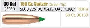 Nosler Ballistic Tip .30 cal  150gr.