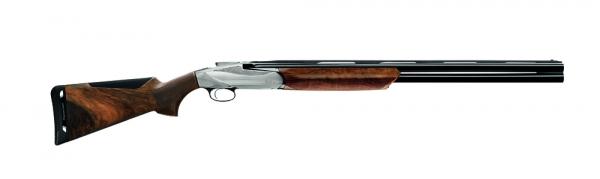 """Benelli 828U 12/76  28"""" Silver Magnum"""