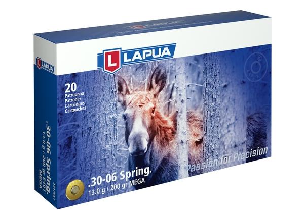 Lapua 30-06 Sprg 13g Mega E401 20kpl/rs