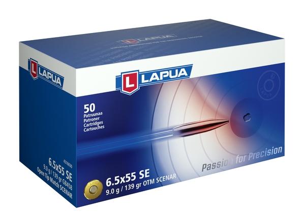 Lapua 6,5x55 SE 9g Scenar GB458 800m/s 50kpl/rs