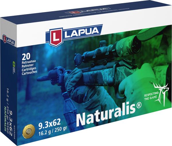 Lapua 9,3x62 Naturalis LR N560 16,2g  20kpl/rs