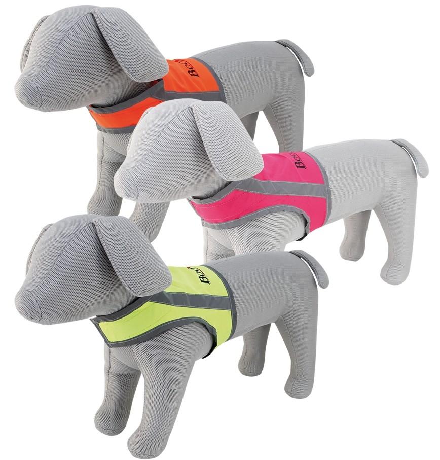 Booster Oranssi/heijastava  huomioliivi koiralle koko M